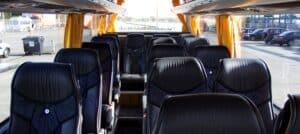 Interieur zakelijk vervoer bus