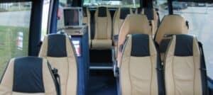 Luxe bus 15 personen zakelijk vervoer